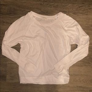 Plain white forever 21 long sleeve